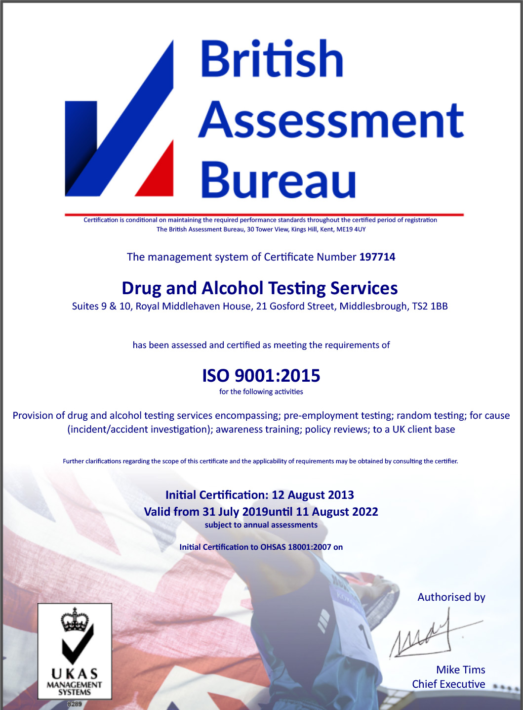 Drug-and-Alcohol-Testing-9001-cert